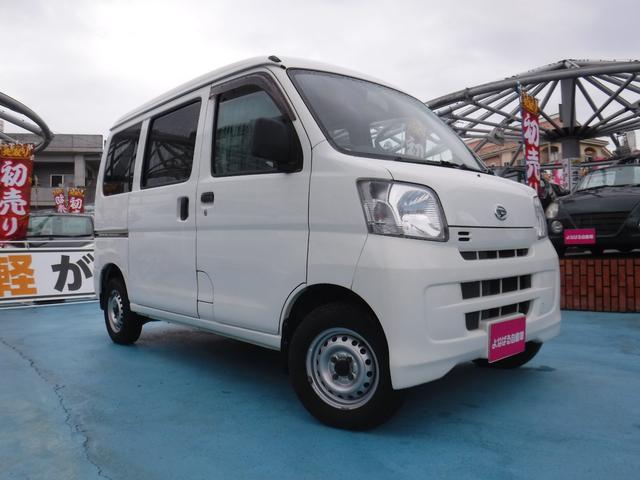 沖縄の中古車 ダイハツ ハイゼットカーゴ 車両価格 59万円 リ済別 2013(平成25)年 9.6万km ホワイト
