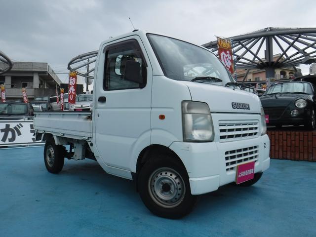 沖縄の中古車 スズキ キャリイトラック 車両価格 39万円 リ済別 2009(平成21)年 10.1万km ホワイト