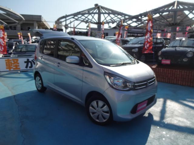 沖縄の中古車 三菱 eKワゴン 車両価格 49万円 リ済別 2013(平成25)年 4.3万km シルバー