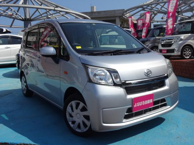 沖縄の中古車 ダイハツ ムーヴ 車両価格 49万円 リ済別 2014(平成26)年 8.6万km シルバーM