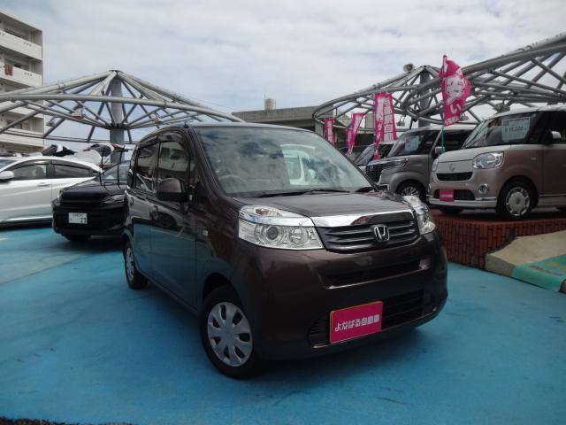 沖縄の中古車 ホンダ ライフ 車両価格 39万円 リ済別 2011(平成23)年 8.0万km ブラウンM