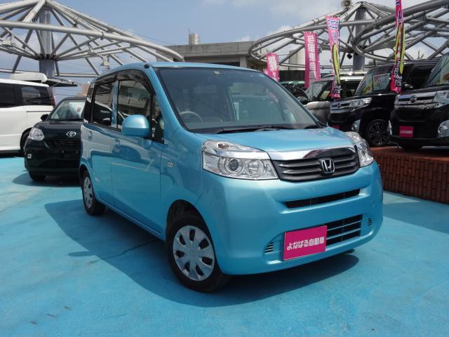沖縄の中古車 ホンダ ライフ 車両価格 49万円 リ済別 2011(平成23)年 6.3万km ライトブルー