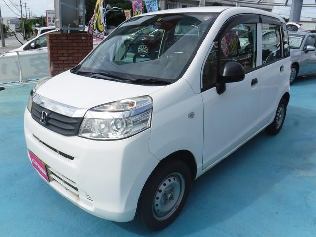 沖縄の中古車 ホンダ ライフ 車両価格 39万円 リ済別 2012(平成24)年 7.2万km ホワイト