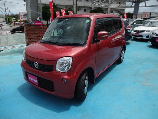 沖縄の中古車 日産 モコ 車両価格 39万円 リ済別 2013(平成25)年 9.7万km ピンクM