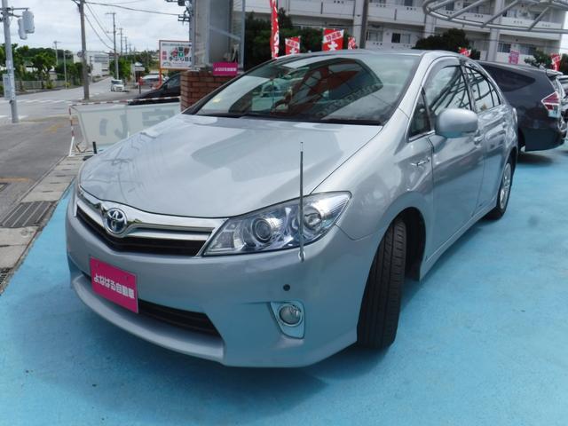 沖縄の中古車 トヨタ SAI 車両価格 69万円 リ済別 2010(平成22)年 5.5万km ブルー