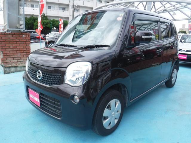 沖縄の中古車 日産 モコ 車両価格 49万円 リ済別 2012(平成24)年 5.4万km ブラウン