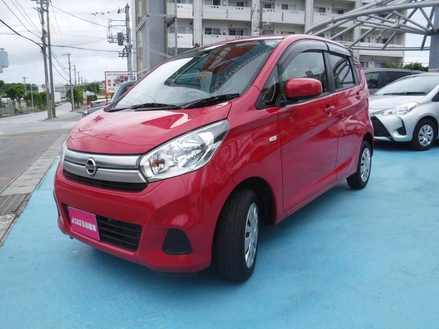 沖縄の中古車 日産 デイズ 車両価格 39万円 リ済別 2016(平成28)年 5.1万km ピンク