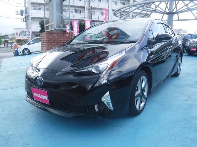 沖縄県の中古車ならプリウス Aツーリングセレクション ナビ ETC