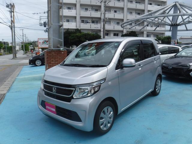 沖縄の中古車 ホンダ N-WGN 車両価格 72万円 リ済別 2014(平成26)年 6.1万km シルバーM