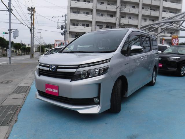沖縄県の中古車ならヴォクシー ハイブリッドV ナビ バックカメラ ETC