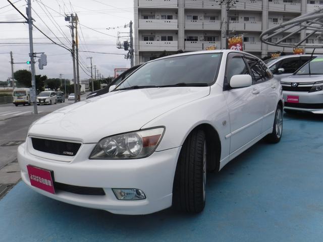 沖縄県の中古車ならアルテッツァジータ AS200 Zエディション ナビ