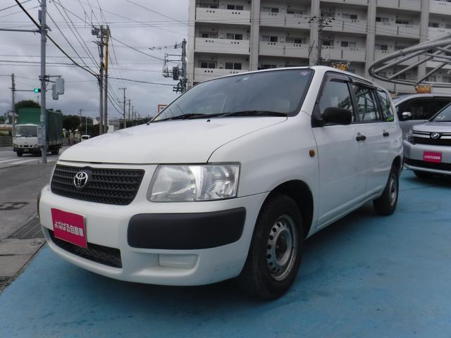 沖縄の中古車 トヨタ サクシードバン 車両価格 49万円 リ済別 2009(平成21)年 8.0万km ホワイト