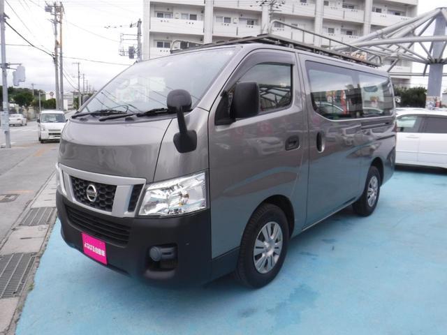 沖縄県の中古車ならNV350キャラバンバン ロングDX ナビ 外付けハシゴ