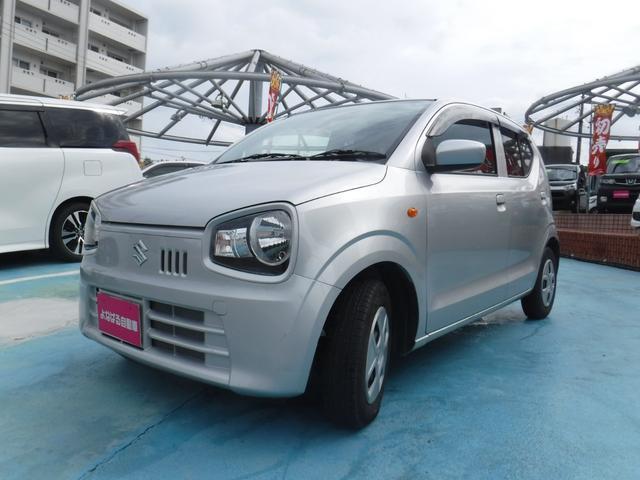 沖縄の中古車 スズキ アルト 車両価格 58万円 リ済別 2015(平成27)年 1.1万km シルバーM