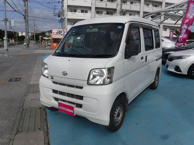 沖縄の中古車 ダイハツ ハイゼットカーゴ 車両価格 59万円 リ済別 2012(平成24)年 7.9万km ホワイト