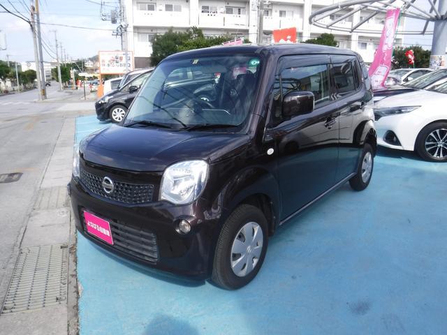 沖縄の中古車 日産 モコ 車両価格 59万円 リ済別 2013(平成25)年 6.0万km アーバンブラウンPM