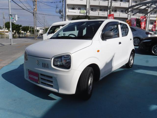沖縄の中古車 スズキ アルト 車両価格 38万円 リ済別 2015(平成27)年 2.0万km ホワイト