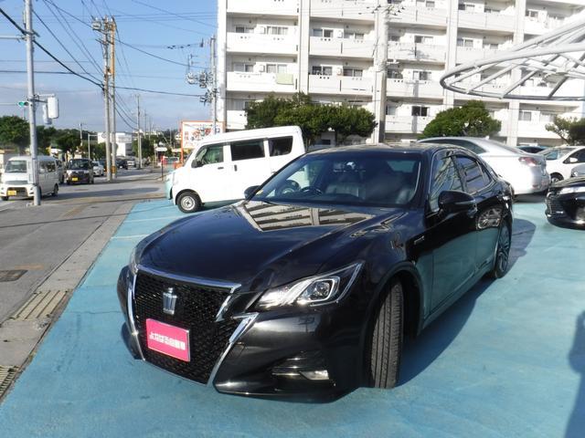沖縄県の中古車ならクラウンハイブリッド アスリートG