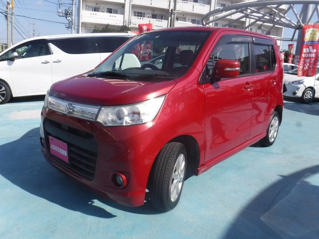 沖縄県の中古車ならワゴンRスティングレー X カーナビ スマートキー