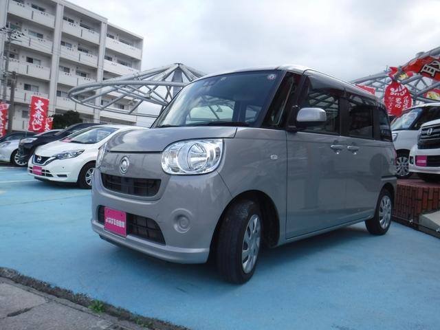 沖縄県島尻郡与那原町の中古車ならムーヴキャンバス L SAIII