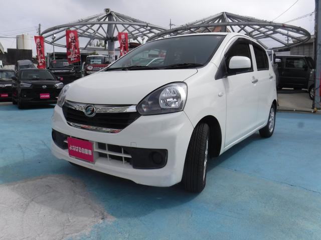 沖縄の中古車 ダイハツ ミライース 車両価格 29万円 リ済別 2015(平成27)年 10.8万km ホワイト