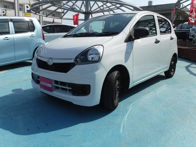 沖縄の中古車 ダイハツ ミライース 車両価格 39万円 リ済別 2016(平成28)年 7.0万km ホワイト
