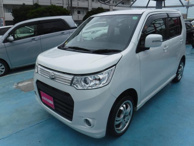 沖縄県の中古車ならワゴンRスティングレー X