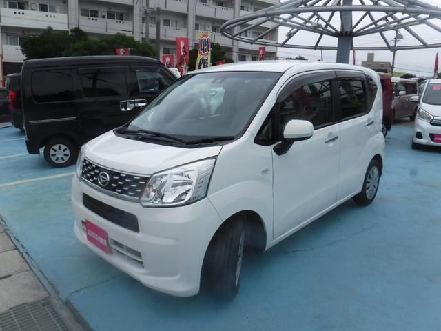 沖縄の中古車 ダイハツ ムーヴ 車両価格 47万円 リ済別 2016(平成28)年 9.0万km ホワイト