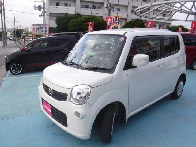 沖縄の中古車 日産 モコ 車両価格 39万円 リ済別 2012(平成24)年 7.4万km パール