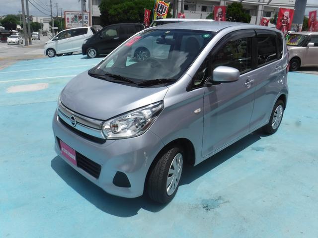 沖縄の中古車 日産 デイズ 車両価格 49万円 リ済別 2016(平成28)年 6.0万km シルバー
