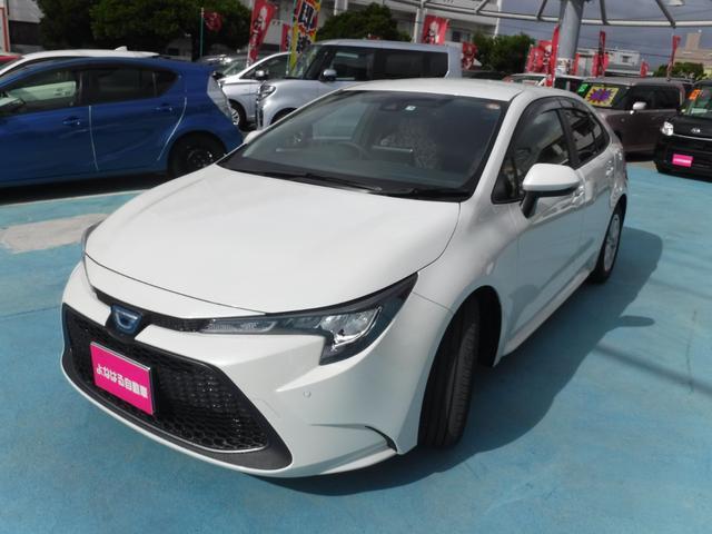 沖縄県の中古車ならカローラ ハイブリッド S ディスプレイオーディオ ドラレコ ETC