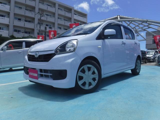沖縄の中古車 ダイハツ ミライース 車両価格 39万円 リ済別 2016(平成28)年 6.0万km ライトブルー