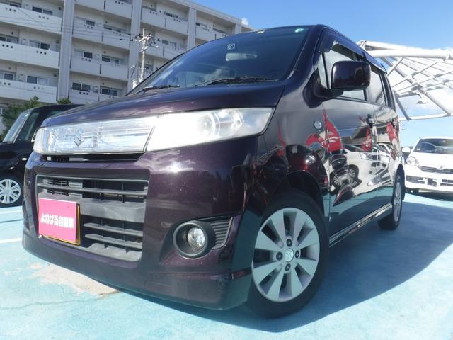 沖縄の中古車 スズキ ワゴンRスティングレー 車両価格 39万円 リ済別 2012(平成24)年 8.7万km パープルM