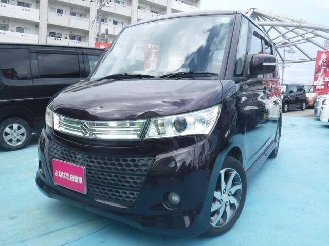 沖縄の中古車 スズキ パレットSW 車両価格 39万円 リ済別 2011(平成23)年 8.9万km ワイン