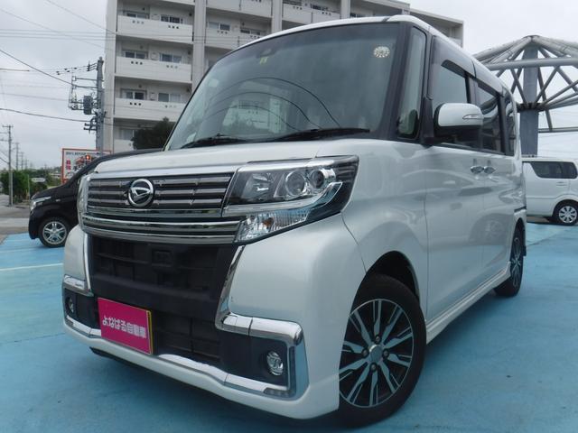 沖縄県の中古車ならタント カスタムX トップエディションSAII