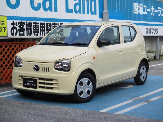 沖縄の中古車 マツダ キャロル 車両価格 81万円 リ済込 平成30年 0.4万km シフォンアイボリー