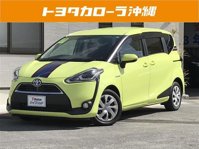 沖縄の中古車 トヨタ シエンタ 車両価格 214万円 リ済別 平成27年 3.9万km LグリーンM