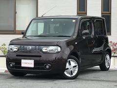 沖縄の中古車 日産 キューブ 車両価格 83万円 リ済込 平成24年 6.3万K ブラウン