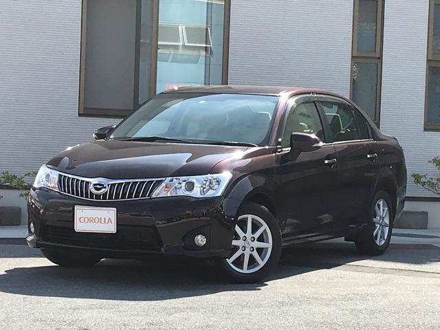 沖縄の中古車 トヨタ カローラアクシオ 車両価格 108万円 リ済込 平成26年 2.1万km パープル