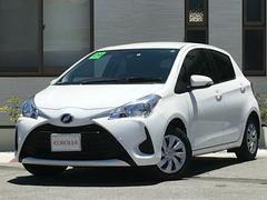 沖縄の中古車 トヨタ ヴィッツ 車両価格 125万円 リ済込 平成29年 0.8万K ホワイト
