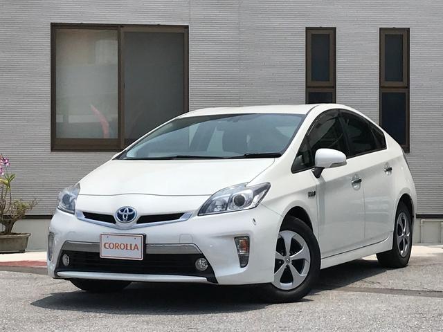沖縄の中古車 トヨタ プリウスPHV 車両価格 158万円 リ済込 平成24年 4.5万km パール