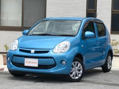 沖縄の中古車 トヨタ パッソ 車両価格 83.9万円 リ済込 平成26年 4.0万K ブルー