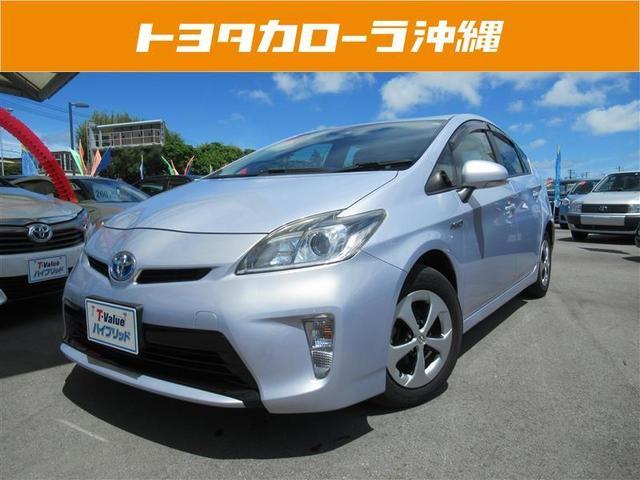 沖縄の中古車 トヨタ プリウス 車両価格 126万円 リ済別 平成25年 4.9万km ライトパープルM