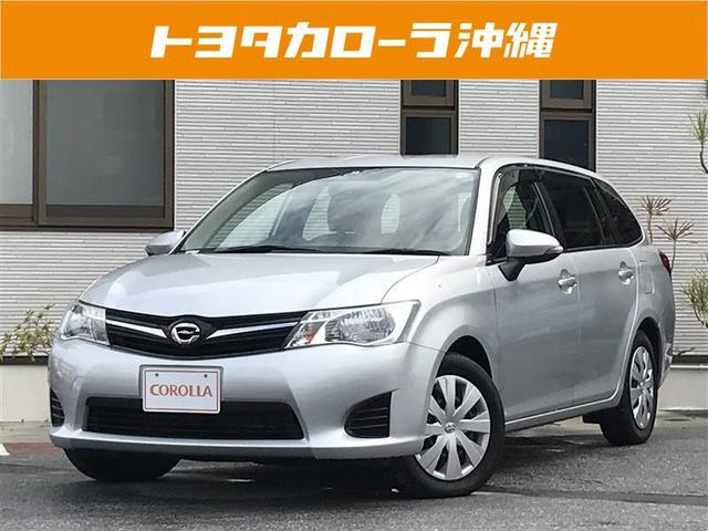 沖縄の中古車 トヨタ カローラフィールダー 車両価格 89万円 リ済別 平成25年 2.9万km シルバーM