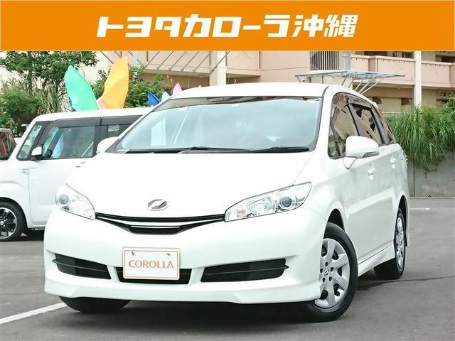 沖縄の中古車 トヨタ ウィッシュ 車両価格 118万円 リ済別 2012(平成24)年 2.9万km パールマイカ
