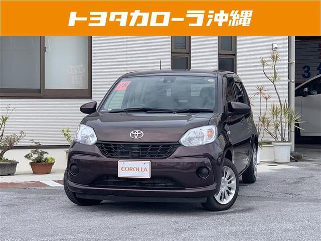 沖縄の中古車 トヨタ パッソ 車両価格 116.1万円 リ済別 2016(平成28)年 4.8万km ブラウン