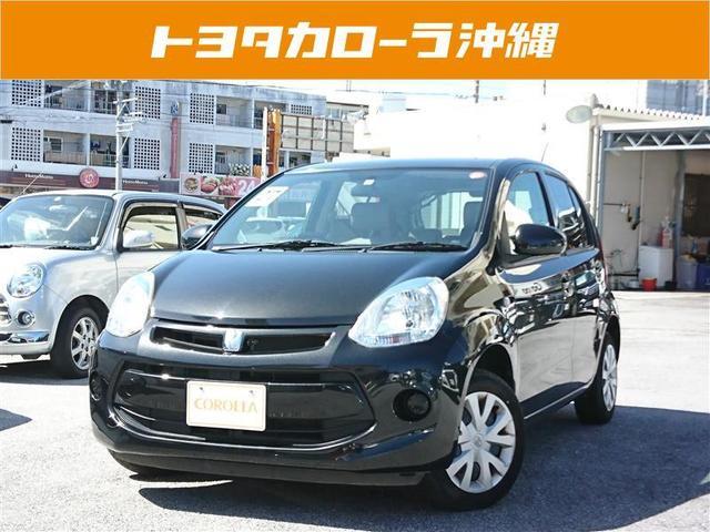 沖縄の中古車 トヨタ パッソ 車両価格 89万円 リ済別 2015(平成27)年 2.7万km ブラック