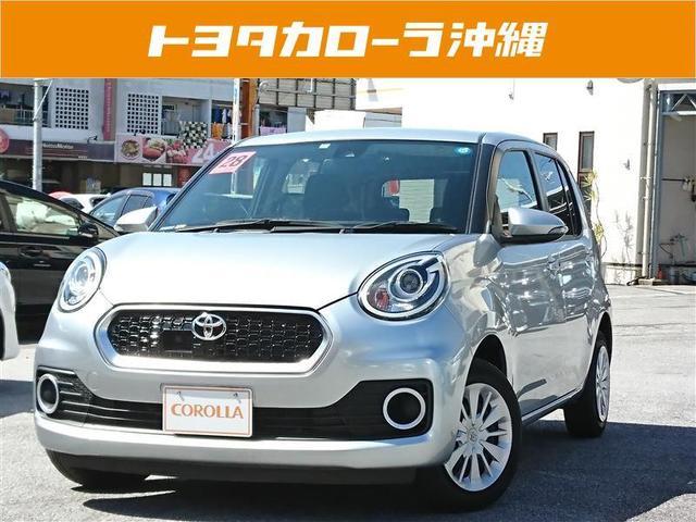 沖縄の中古車 トヨタ パッソ 車両価格 114万円 リ済別 2016(平成28)年 1.8万km シルバー