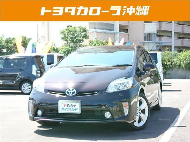沖縄の中古車 トヨタ プリウス 車両価格 130万円 リ済別 2014(平成26)年 5.0万km ムラサキ