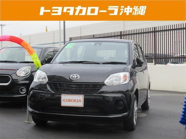 沖縄の中古車 トヨタ パッソ 車両価格 120.2万円 リ済別 2017(平成29)年 0.9万km ブラック